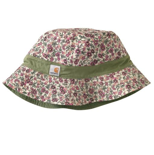 WA073- Women's Reversible Poplin Bucket Hat
